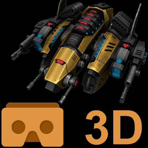 Store MVRのアイテムアイコン: Cardboard 3D VR Space FPS game